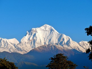 Mountain View From Ghorepani, Nepal