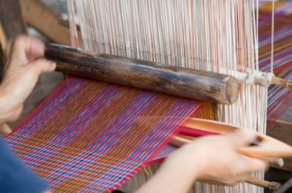 Bhutan weaver