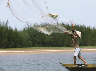 Hoi An Vietnam fishing