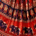 India, Jaipur, Rajasthan fabrics