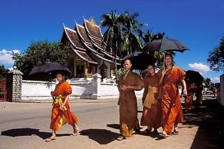 Monks, Luang Prabang, Laos